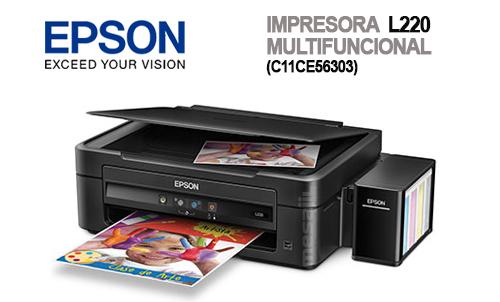 Impresora Epson L220 Sistema Original Tinta Continua